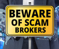 Beware of fraudulent forex brokers